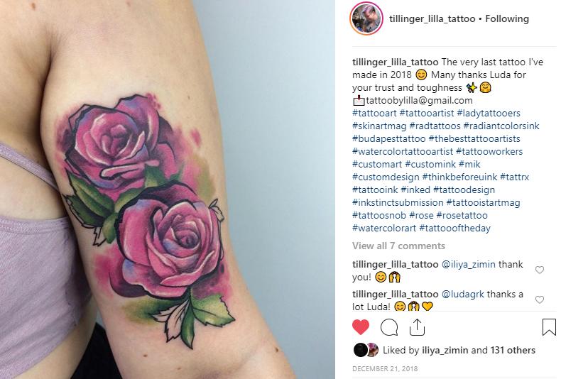 Tattoo budapest lilla tillinger